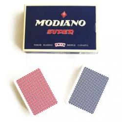 Modiano Super Plastkort - 2 pack