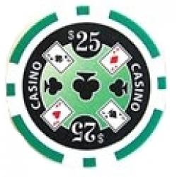 Casino Ace Grön 25 (25-pack)
