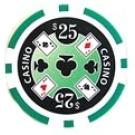 Casino Ace Grön 25