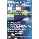 Winning in Tough Hold'em Games: Short-Handed and High-Stakes Concepts and Theory for Limit Hold'em